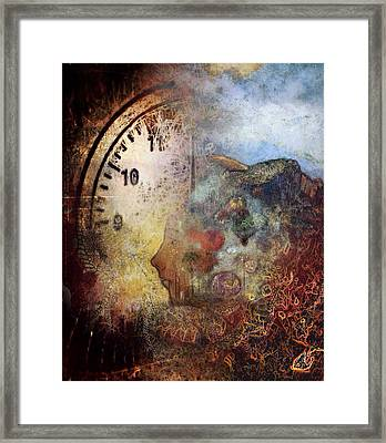 One Thought Fills An Immensity  Framed Print by Dan Hill