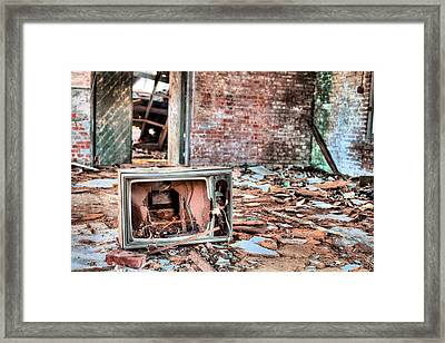 One Thousand Channels  Framed Print by JC Findley
