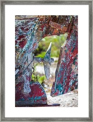 One Time Beauty Framed Print