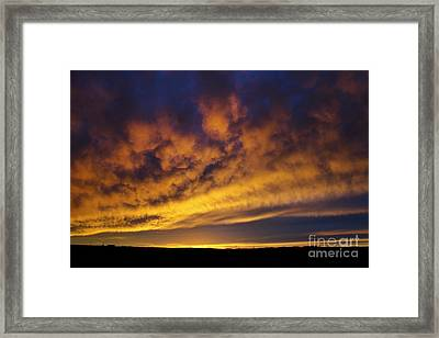 One To Remember Framed Print