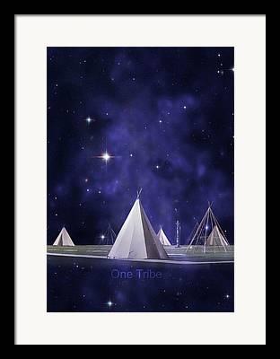 Star Of Bethlehem Photographs Framed Prints