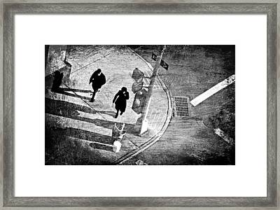 One Way Framed Print by Diana Angstadt