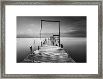 One Way Framed Print
