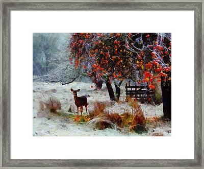 One Winter Morning Framed Print