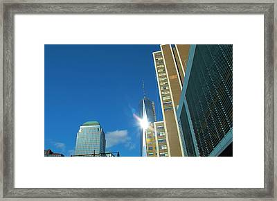 One World Trade Center Framed Print