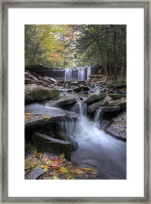 Oneida Falls Framed Print