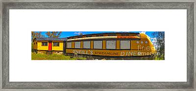 Oneills Streamline Diner - 04 Framed Print by Gregory Dyer