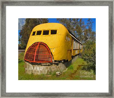 Oneills Streamline Diner Framed Print by Gregory Dyer