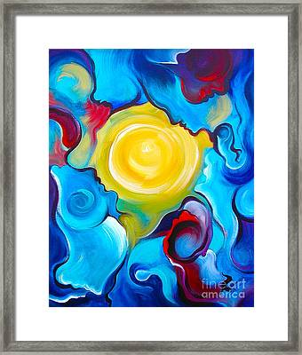 Oneness Framed Print by Gem S Visionary