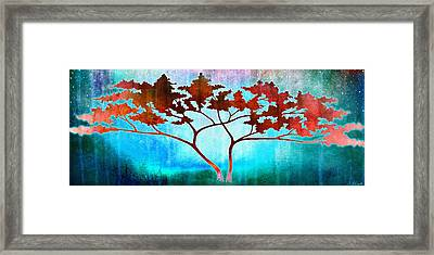 Framed Print featuring the mixed media Oneness by Jaison Cianelli
