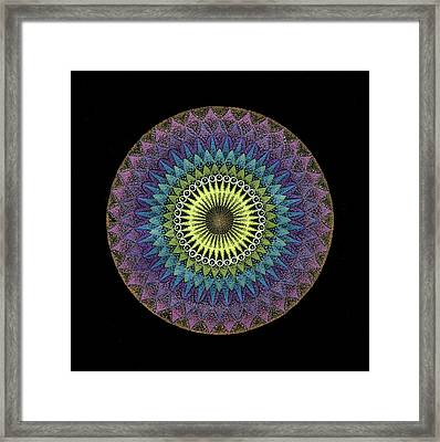Framed Print featuring the painting Oneness by Keiko Katsuta