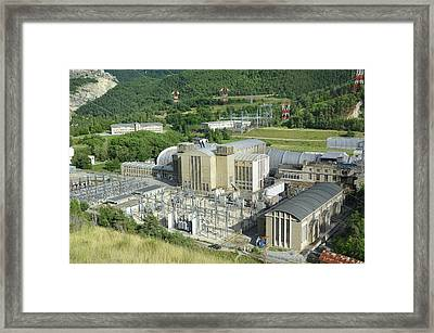 Onera Aerospace Research Centre Framed Print by Chris Hellier