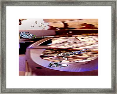 Ongame Framed Print by Immo Jalass