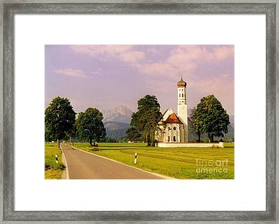 Onion Dome Church Framed Print