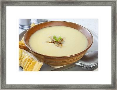 Onion Soup Framed Print