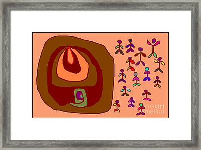 Onionmen Framed Print by Meenal C