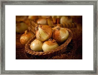 Onions1965 Framed Print