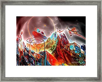 Oniric - 1 Framed Print by Bernard MICHEL