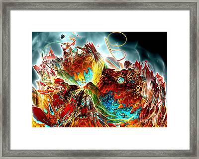 Oniric - 2 Framed Print by Bernard MICHEL