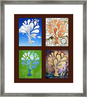 Only As Much As I Dream Series 2x2 Framed Print by Nikki Marie Smith