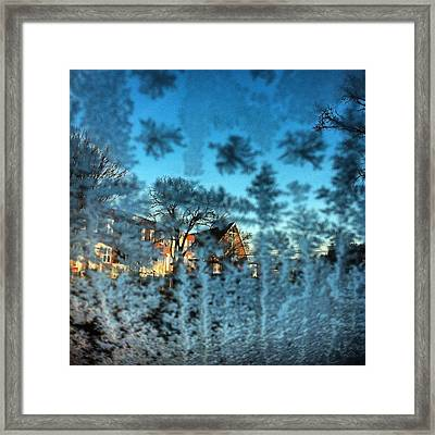 Framed Print featuring the photograph Only Glass by Toni Martsoukos