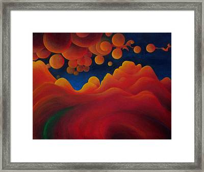 Only In Dreams Framed Print by Richard Dennis