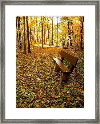 Only Lovers Are Missing Framed Print