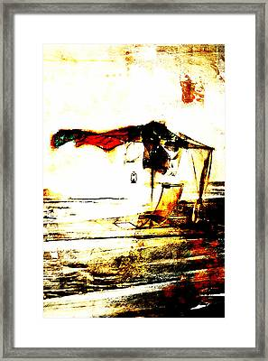 Only My Sunbed Framed Print by Andrea Barbieri