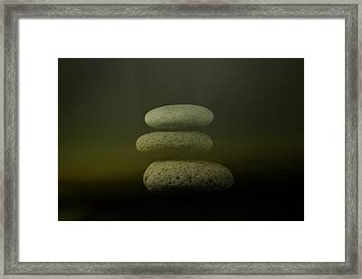 Only Noon Framed Print