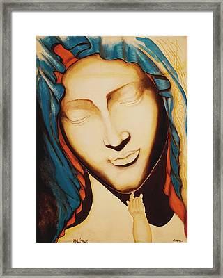 Only One Illuminates My Soul II Framed Print