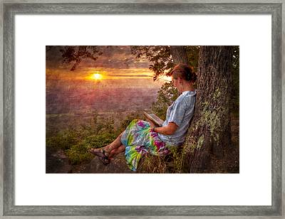 Only The Heart May Know Framed Print