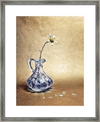 Only The Strong Survive Framed Print