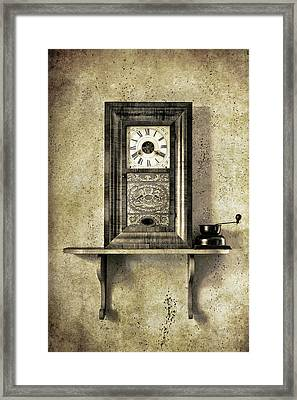 Only Time Will Tell Framed Print by Jeff Burton
