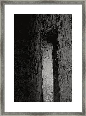 Only Way Out Framed Print