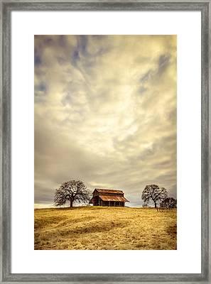 Ono Barn Framed Print by Randy Wood