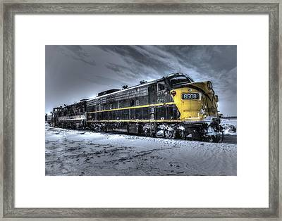 Ontario Southland Railways Framed Print by Nick Mares