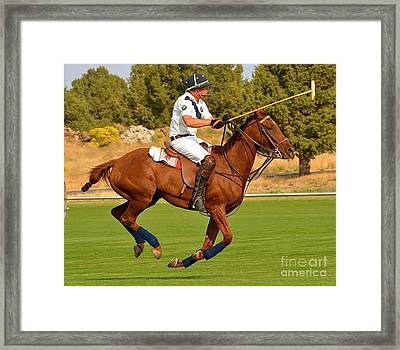 Framed Print featuring the photograph Onward by Barbara Dudley