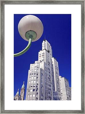 Framed Print featuring the photograph Onyric City by Bernardo Galmarini