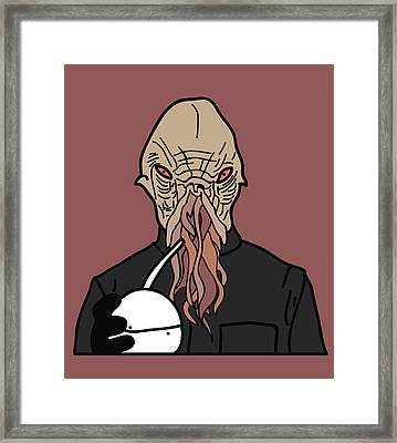 oOd Framed Print by Jera Sky