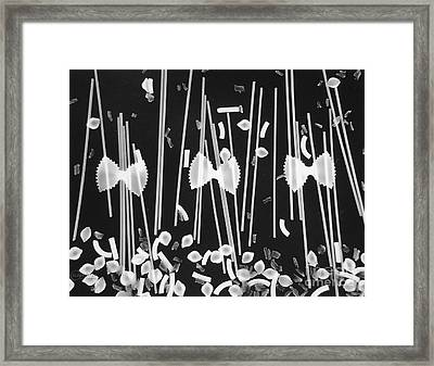 Oodles Of Noodles #1 Framed Print by Robert ONeil