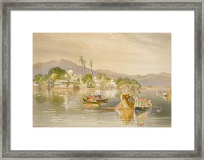 Oodypure, The Jugmunder Palace Framed Print