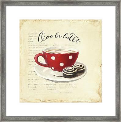 Ooo La Latte Framed Print by Emily Adams