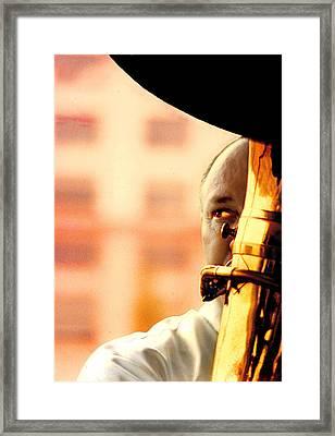 Oop Pah Framed Print by Mike Flynn