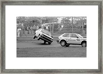 Oops Framed Print by Mike Flynn