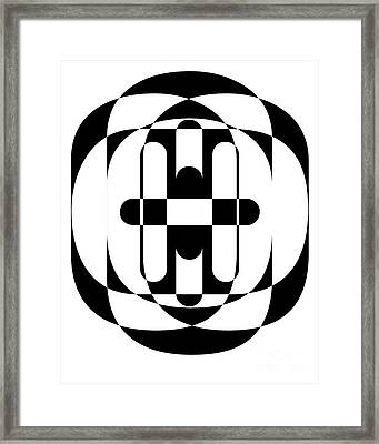 Op Art 5 Framed Print by Edward Fielding