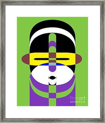 Pop Art People 2 Framed Print by Edward Fielding