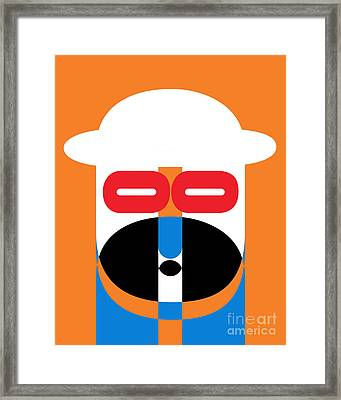Pop Art People 1 Framed Print by Edward Fielding