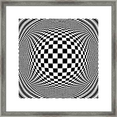 Op Art Framed Print