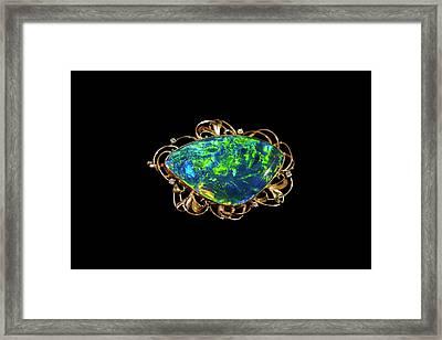 Opal Jewellery Framed Print by Bildagentur-online/mcphoto-schulz