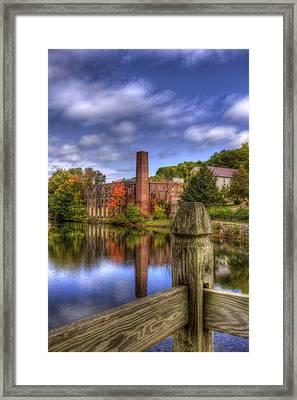 Opechee Bay Reservoir - Laconia Nh Framed Print